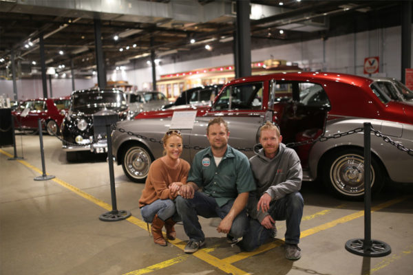 franktown garage team at forney transportation museum