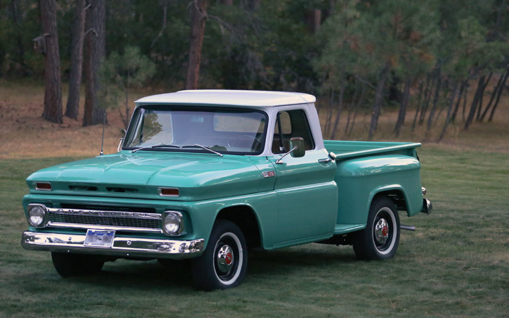 1965 chevy c10 stepside pickup truck restoration