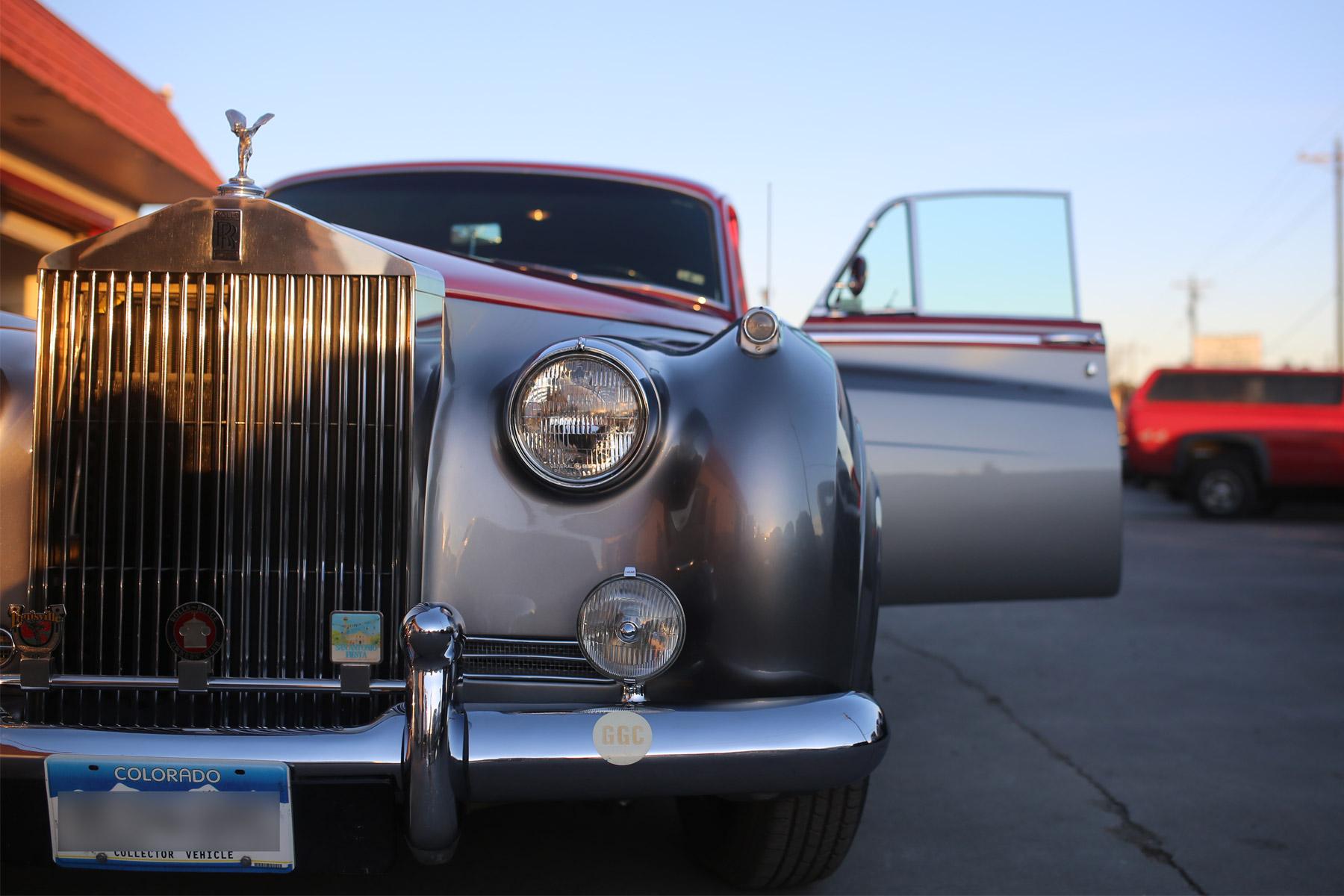 rolls royce silvercloud auto paint restoration