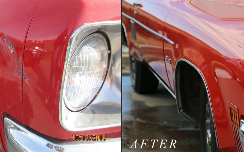 1974 oldsmobile delta 88 fender collision repair