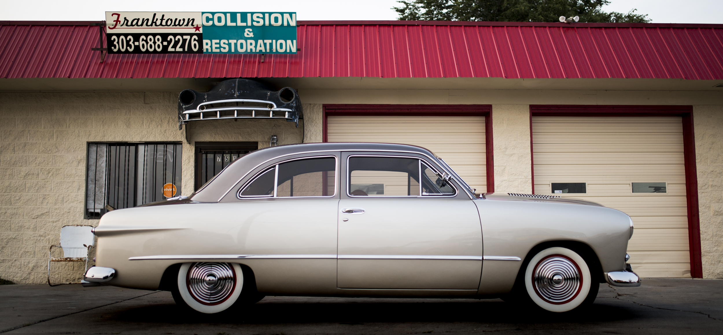 Ford Deluxe Auto Restoration